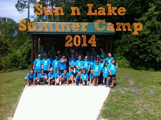 Sun 'n Lake Summer Camp 2014 group